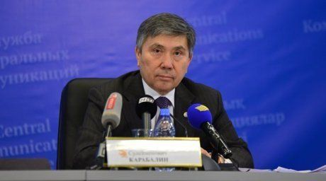 First Vice-Minister of Kazakhstan Uzakpai Karabalin. Photo courtesy of ortcom.kz