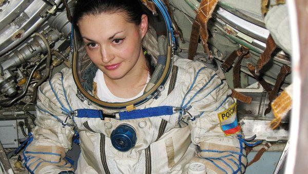 Yelena Serova, was launched into Earth orbit on Thursday night aboard Soyuz TMA-14M spacecraft