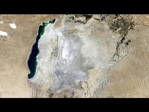 The damage reached its peak this year, when the eastern lobe of the South Aral Sea -- which actually was the center of the original lake -- dried up completely.