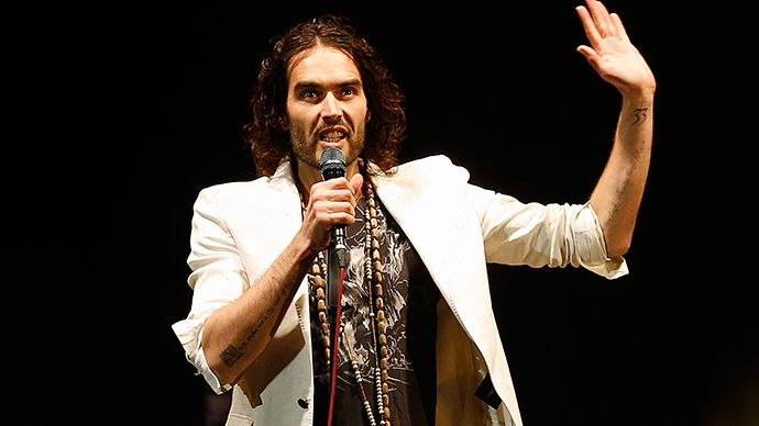 British comedian Russell Brand (Reuters)