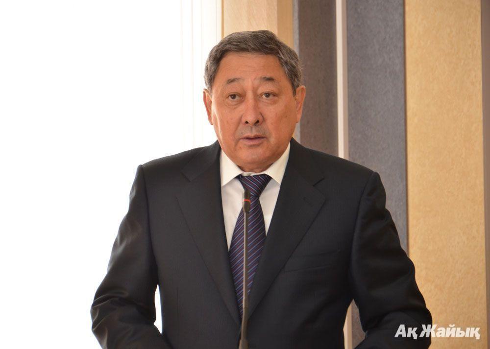 B. Izmukhambetov, Atyrau Oblast Governor