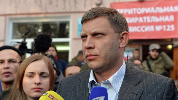 Zakharchenko wins DPR's elections as 100 percent of votes is counted, according to Election Commission.