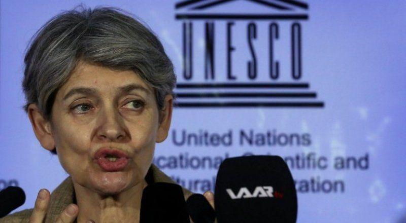 UNESCO chief Irina Bokova