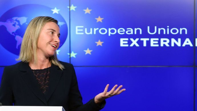uropean Union foreign policy chief Federica Mogherini (Reuters