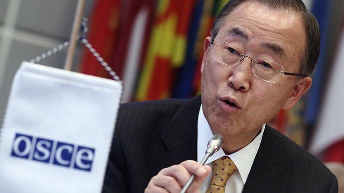 United Nations Secretary-General, Ban Ki-moon. (Reuters)