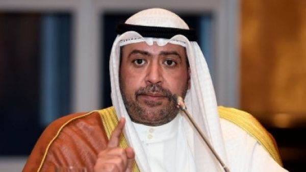 President of The Association of National Olympic Committees (ANOC) Sheikh Ahmad Al-Fahad Al-Sabah at the meeting in Bangkok,Thailand Wednesday, Nov. 5, 2014. ANOC hosts its 10th General Assembly (AP Photo).