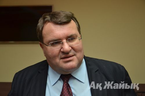 Imre Laslotski, the Extraodinary and Plenipotentiary Ambassador of Hunagary to Kazakhstan