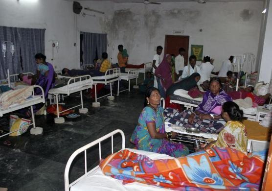Women who underwent botched sterilization surgeries at a government mass sterilization