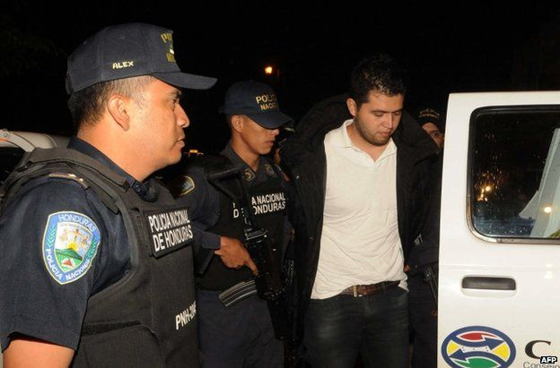 Police detained the suspect Aris Maldonado in Santa Barbara