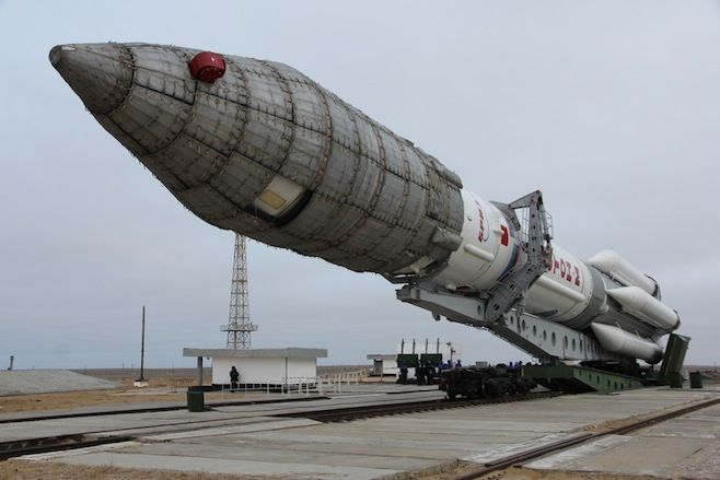 Russia and Kazakhstan have agreed to begin phasing out the Proton rocket's use. (FSA)