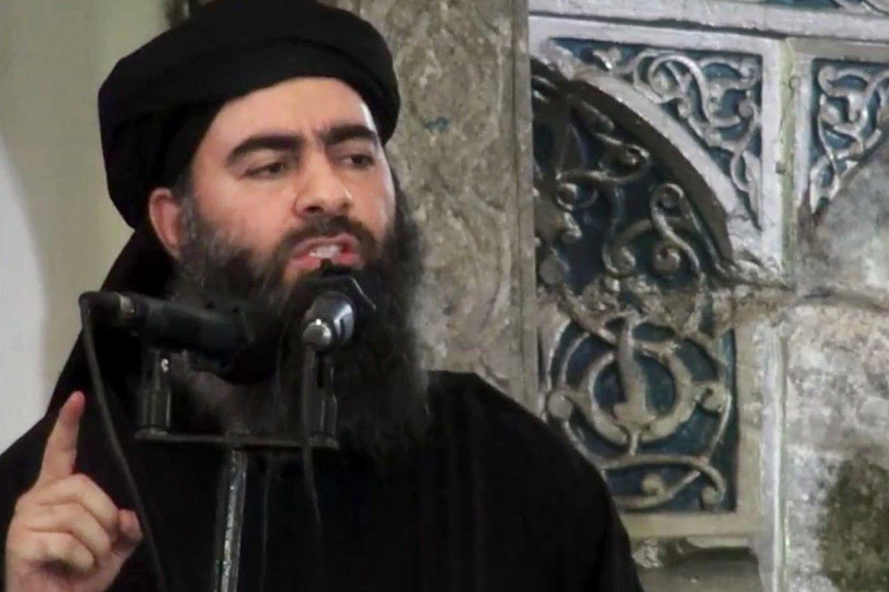 Abu Bakr al-Baghdadi, the leader of Islamic State group.