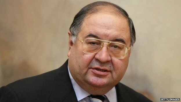 Mr Usmanov described Mr Watson's situation as unacceptable