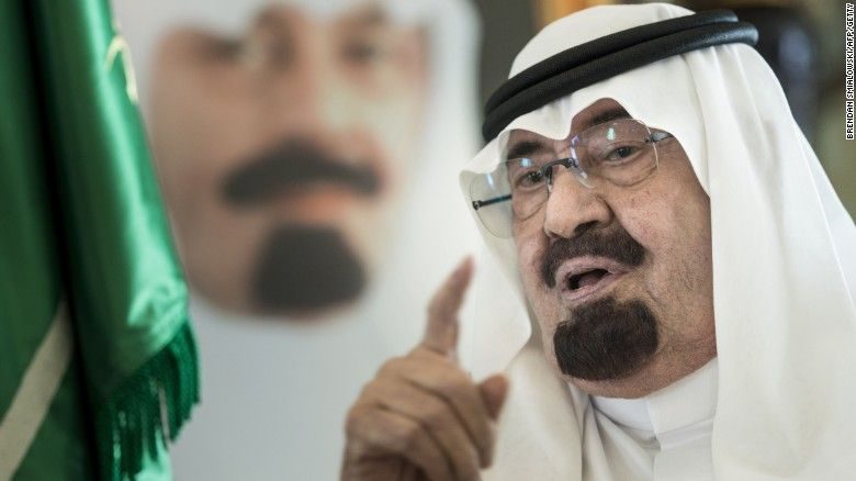 King Abdullah dead at 90