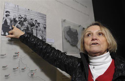 81-year-old Paula Lebovics - Auschwitz camp survivor
