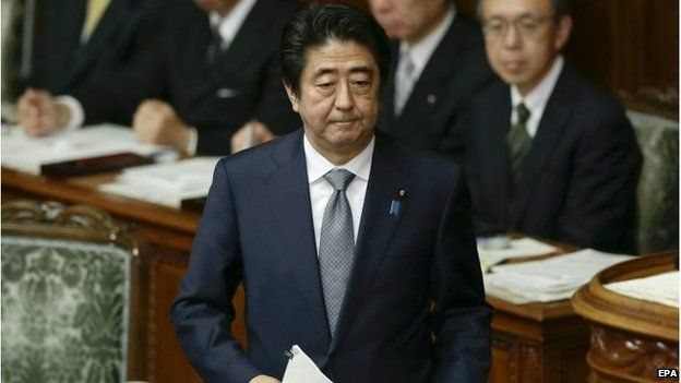 Mr Abe called on minsters to ensure the safety of all Japanese people abroad