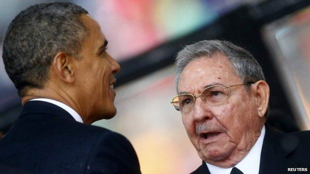 There are still several hurdles for Barack Obama and Raul Castro to clear