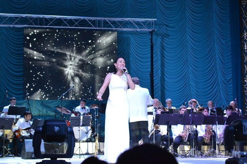 Singer Akmaral Mashimova