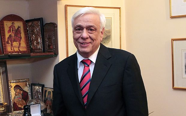 Prokopis Pavlopoulos, 64, has been elected Greece's new president