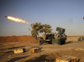 Shi'ite militias in Iraq launch attacks on Islamic State