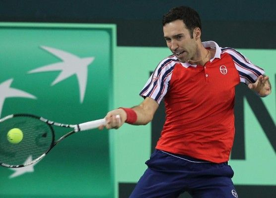 Mikhail Kukushkin defeated Simone Bolelli 7-6 (6), 6-1, 6-2 to give Kazakhstan a 1-0 lead over Italy in Davis Cup on Friday.