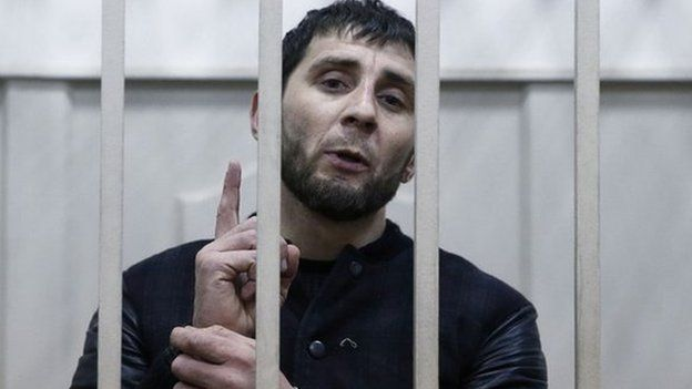 Zaur Dadayev was arrested on Saturday, about a week after Boris Nemtsov was shot dead