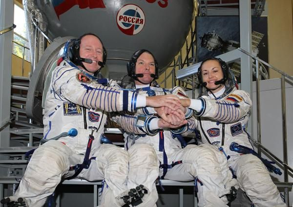 The Soyuz TMA-14M spacecraft carrying Russian cosmonauts Alexander Samokutyaev and Elena Serova (Roscosmos) and US astronaut Barry Wilmore (NASA) successfully landed in Kazakhstan