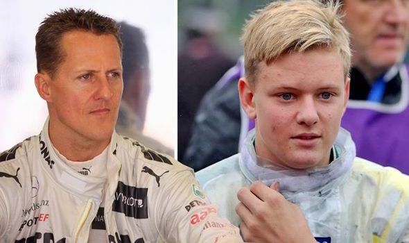 Mick Schumacher's Formula 4 career only began at the start of March.
