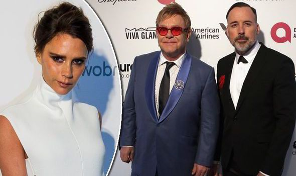 Victoria Beckham tweeted support for Elton John and David Furnish after Dolce and Gabbana's comments