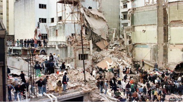 No-one has been convicted for the attack against the Amia building, which happened on 18 July 1994