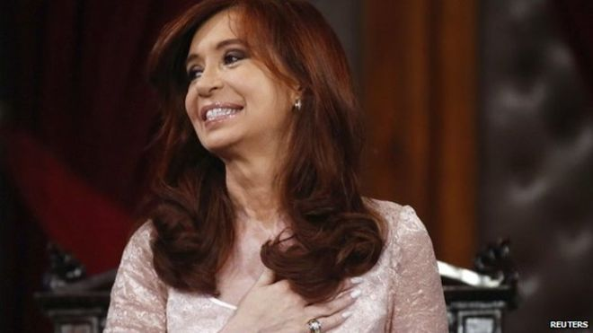President Cristina Fernandez de Kirchner will leave office in December