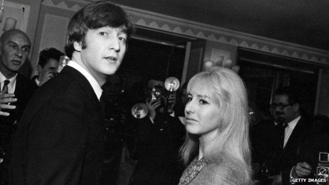 Jphn Lennon and Cynthia Lennon