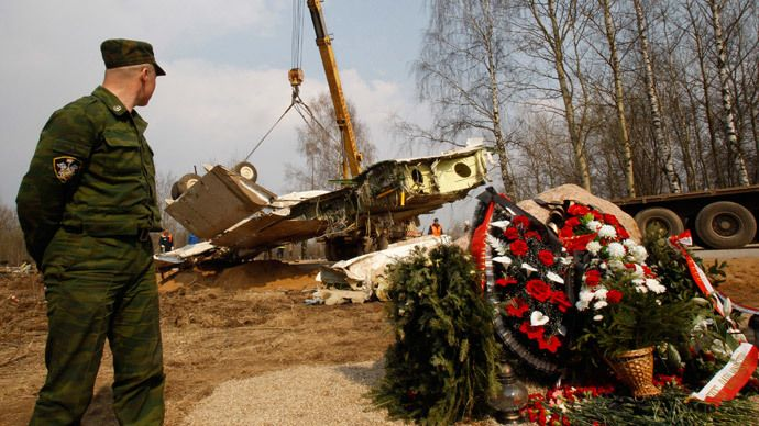Pressured by the leak of a local radio station, the Polish Prosecutor's Office has released black box transcripts from the presidential plane that crashed in Russia in 2010. It confirms that unauthorized people were in cockpit, instructing the pilots.