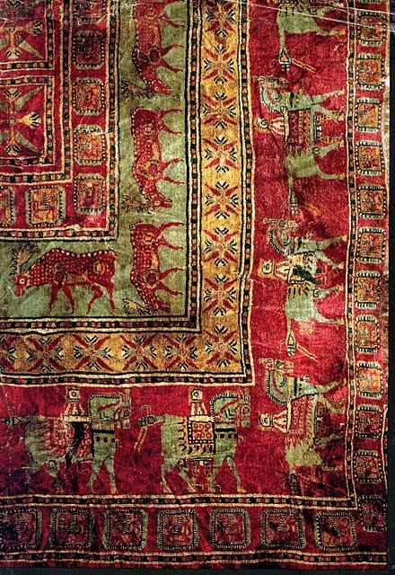 The World S Oldest Carpet Story The Pazyryk новости на