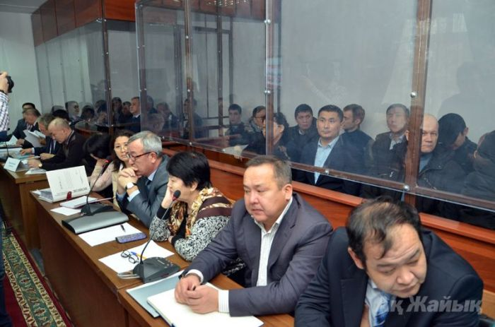 """Ryskaliev's OCG"" trial begins in Atyrau court (photos+video)"