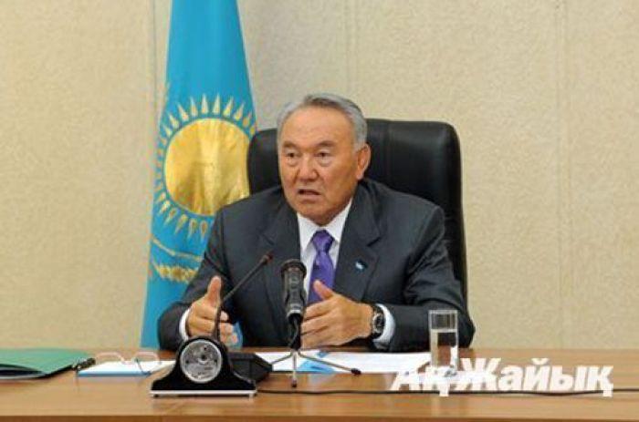 President Nazarbayev arrived to Atyrau