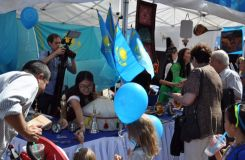 Kazakh culture stirs up interest in New York (PHOTO)