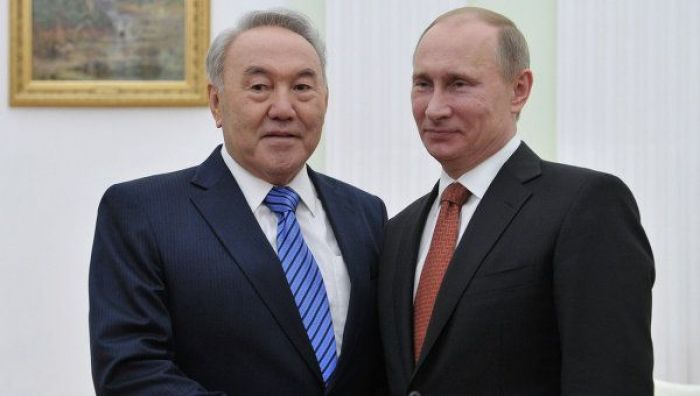 Day two of the Forum: with Nazarbayev and Putin