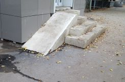 Who needs such wheelchair ramps?