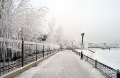 Winter in Atyrau