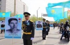 Immortal Regiment from Atyrau