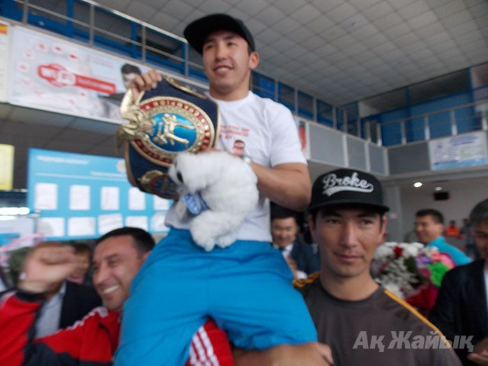 ​Abzal Dyusupov -champion of Asia among professionals