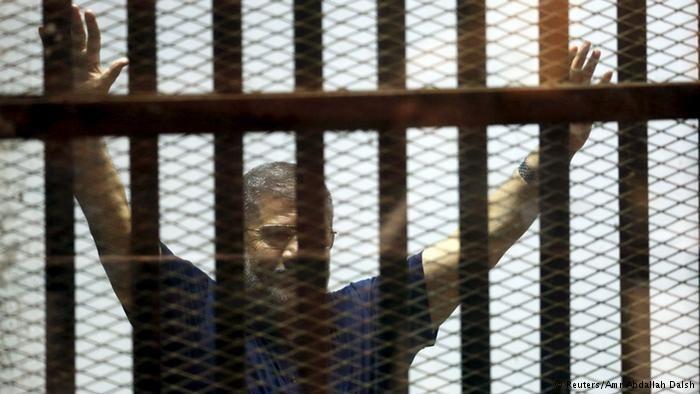 Death sentence upheld against Egypt's Morsi
