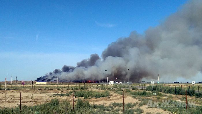 Fire at local landfill