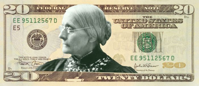 The $10 Bill Will Finally Put A Female Face On U.S. Dollars