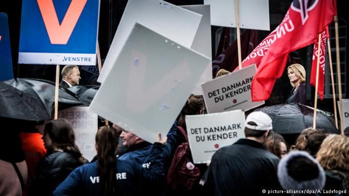 Danish centre-right opposition wins elections