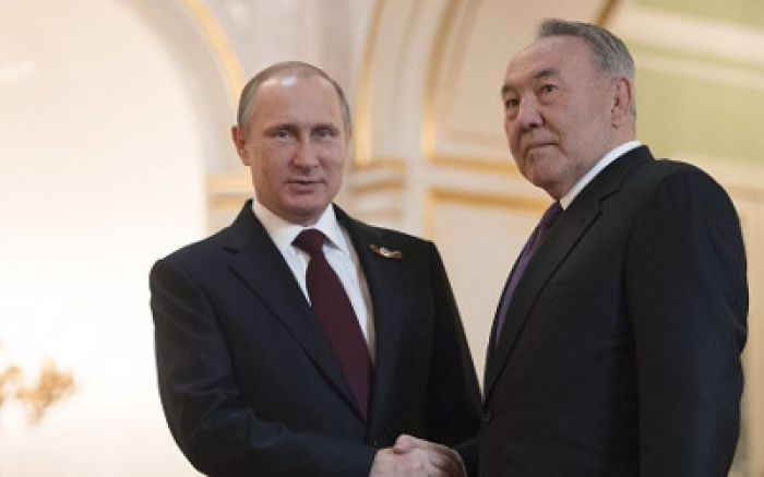 ​Nazarbayev, Putin discuss SCO summit in Russia