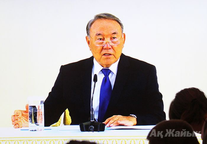"""President in Atyrau: """"Those who groundlessly speak ill, will be cruelly punished"""""""