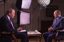 Russia: Putin talks Assad, Ukraine & ISIS with US TV host Charlie Rose