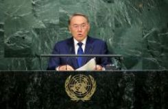 PRESIDENT OF KAZAKHSTAN ADDRESSES GENERAL ASSEMBLY