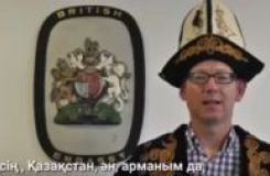 UK Embassy in Kazakhstan congratulatory video on the 550 anniversary of the Kazakh khanate